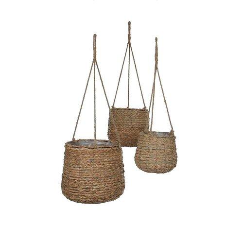 3-tlg. Blumenampel-Set Webster Sansibar Home | Dekoration > Dekopflanzen | Sansibar Home