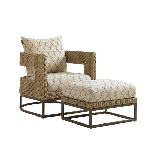 Aviano Barrel Chair with Cushions by Tommy Bahama Home