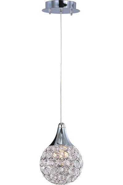 Devereaux 1-Light Teardrop Pendant by Willa Arlo Interiors