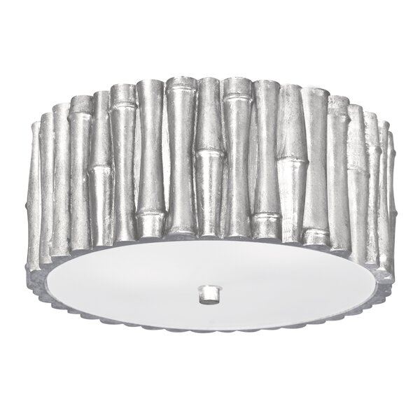 Weiss 2-Light Flush Mount by Bay Isle Home