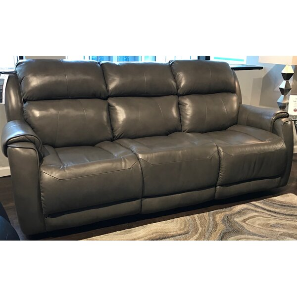 Best Reviews Of Safe Bet Leather Reclining Sofa by Southern Motion by Southern Motion