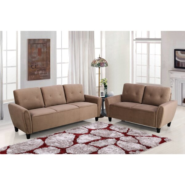 Saco 2 Piece Living Room Set by Ebern Designs