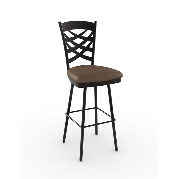 Nest 27.63 Swivel Bar Stool by Amisco