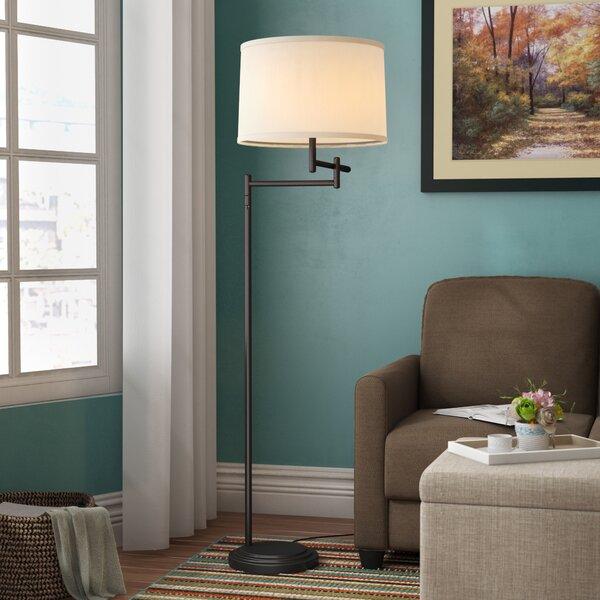 Bethesda 60 Swing Arm Floor Lamp by Alcott Hill