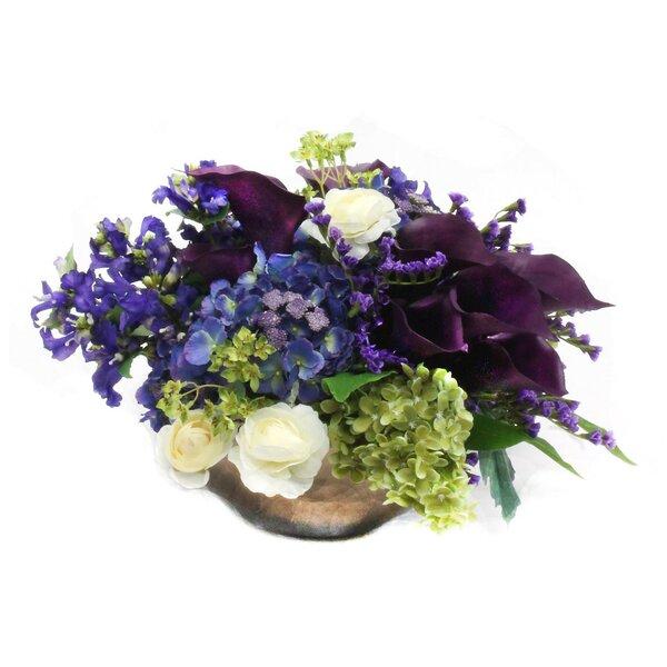 Faux Mixed Floral Arrangements by Dalmarko Designs