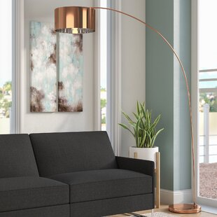 Price comparison Bachman 81 LED Arched Floor Lamp By Wade Logan