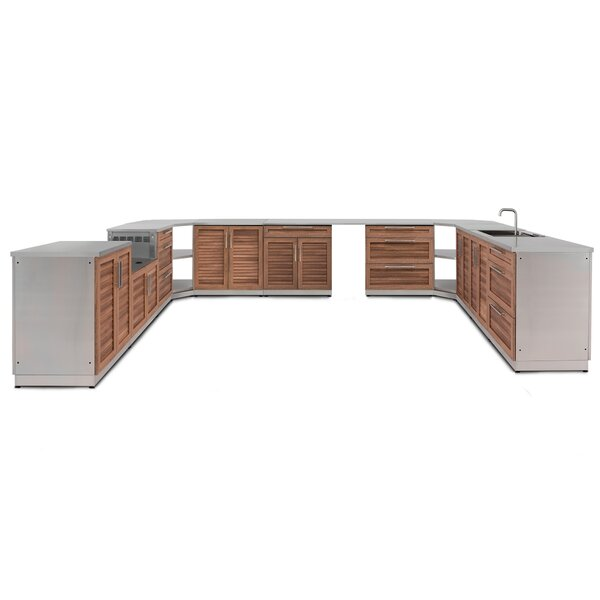 17 Piece Outdoor Bar Center Set by NewAge Products