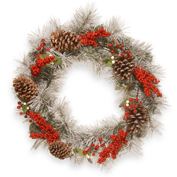 24 Pine Wreath by National Tree Co.