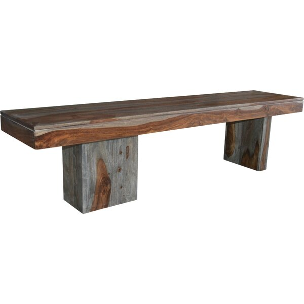 Cothern Wooden Bench by Loon Peak