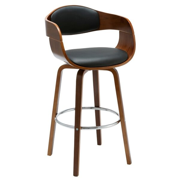 Imogen 28.74 Swivel Bar Stool by Porthos Home