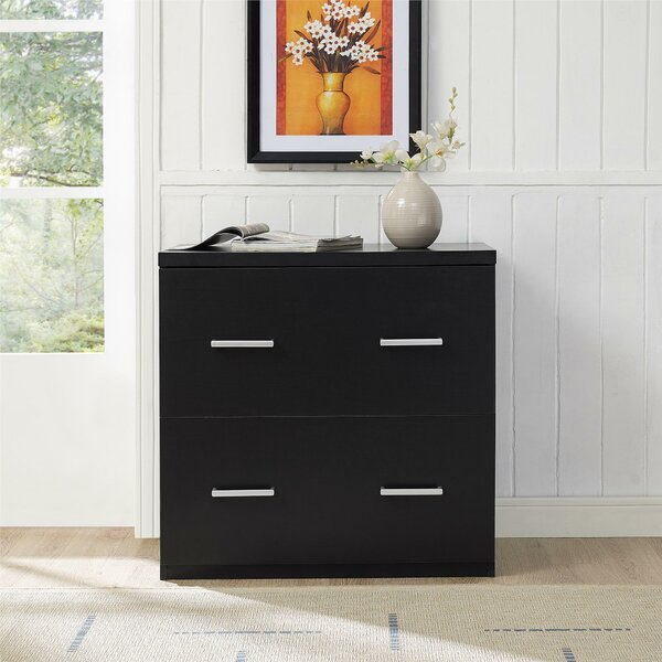 Canvey 2 Drawer Lateral File Cabinet by Ebern Designs
