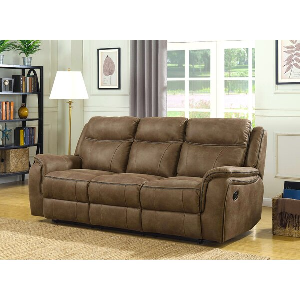 Shop Special Prices In Rakhimov Reclining Sofa by Loon Peak by Loon Peak