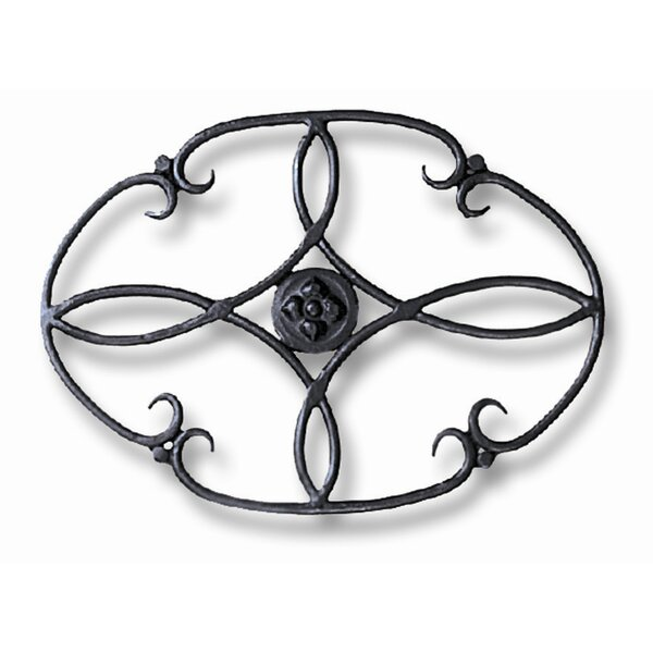 Clover Wrought Iron Trivet by Minuteman International