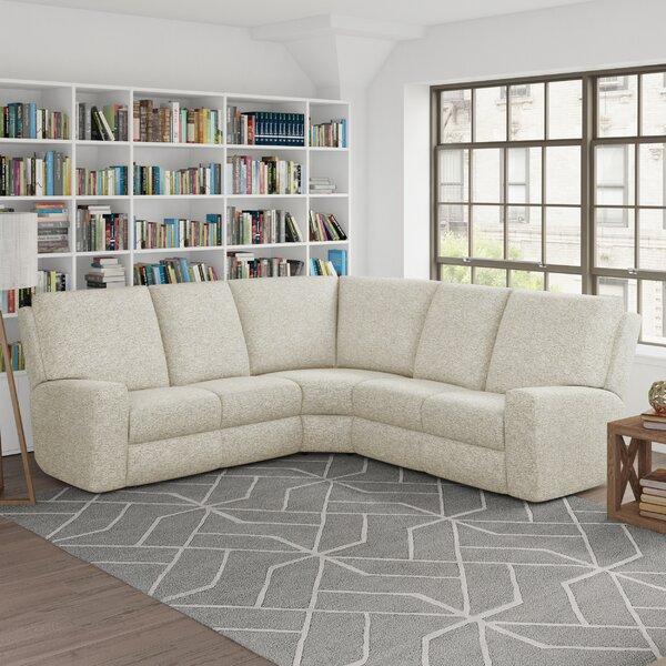 Alliser Reclining Sectional By Wayfair Custom Upholstery™
