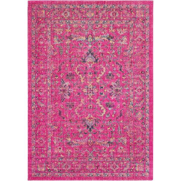 Randhir Pink Area Rug by Bungalow Rose
