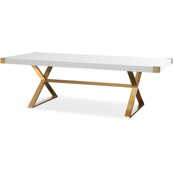 Roseann Dining Table by Everly Quinn