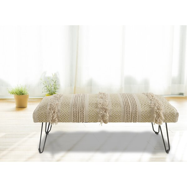 Crafton Upholstered Bench by Union Rustic