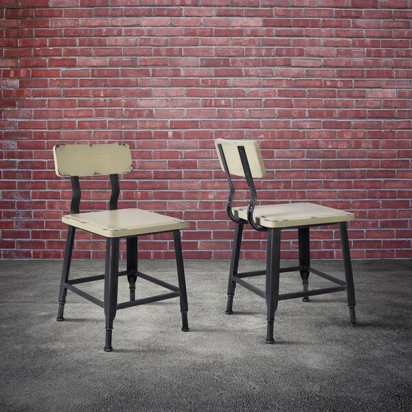 Bozarth Industrial Dining Chair (Set of 2) by Williston Forge