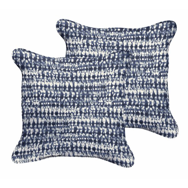 Demers Graphic Indoor/Outdoor Throw Pillow (Set of 2) by Mercury Row