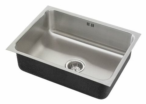 30 x 18 x 10.5 Undermount Kitchen Sink with Overflow