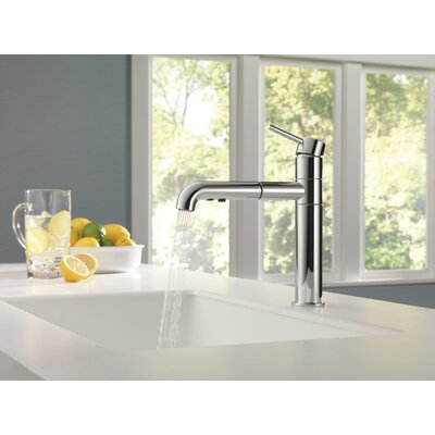 Kitchen Faucet Single Handle Seal Chrome photo