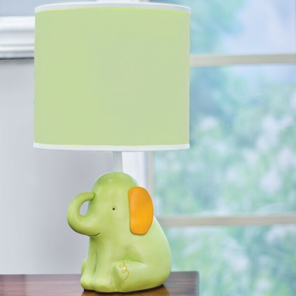 My ABCs Friends Elephant 15 Table Lamp by Nurture Imagination