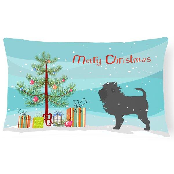 Affenpinscher Indoor/Outdoor Lumbar Pillow by The Holiday Aisle