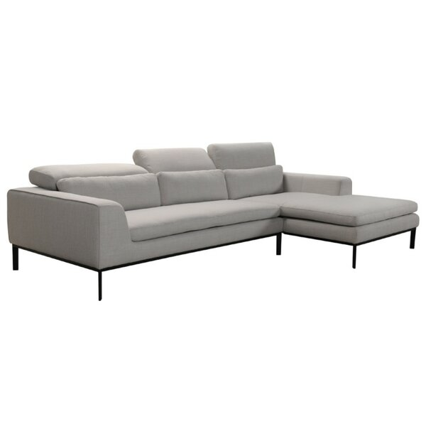 Cogswell Right Hand Facing Modular Sectional by Brayden Studio Brayden Studio