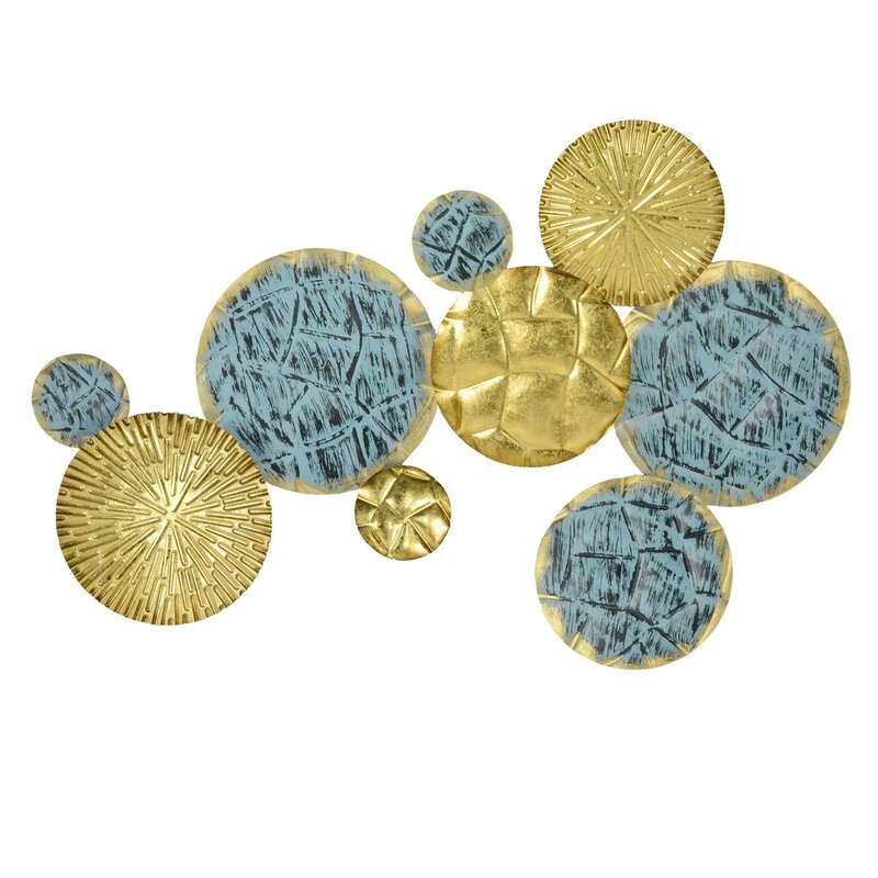 Ivy Bronx Jewels of the Sea Plates Wall Décor & Reviews | Wayfair