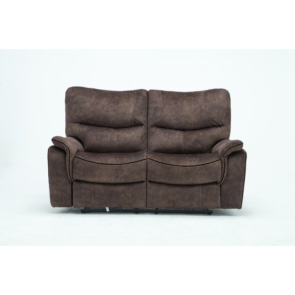 Palu Reclining Loveseat by Loon Peak Loon Peak