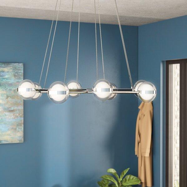 Mya 8 - Light Sputnik Sphere LED Chandelier By Brayden Studio