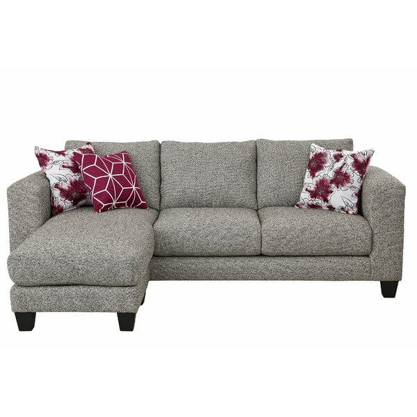 Pender Reversible Sectional With Ottoman By Ebern Designs