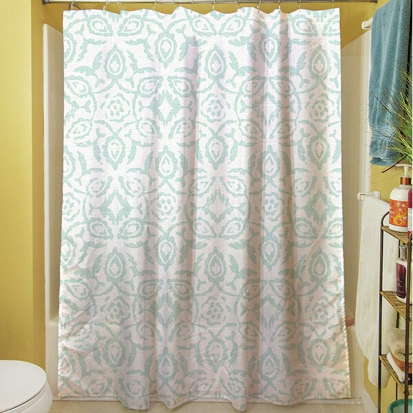Flowing Damask II Shower Curtain by Manual Woodworkers & Weavers