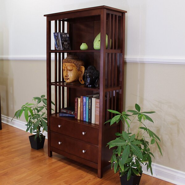 Shackleford Standard Bookcase By Charlton Home