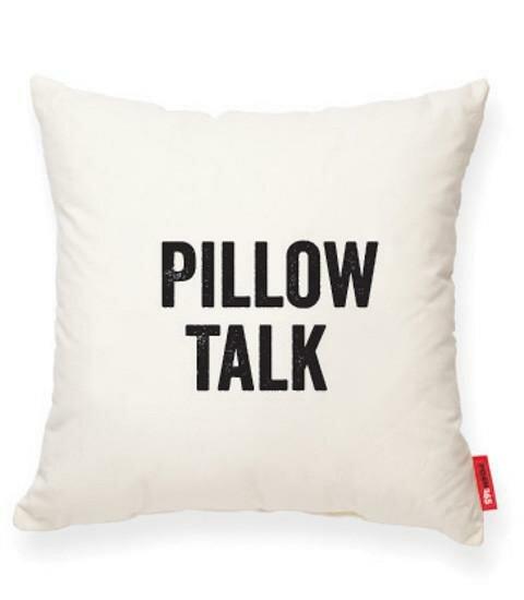 Pettis Pillow Talk Cotton Throw Pillow by Wrought Studio