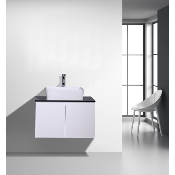 Sonlin 30 Wall-Mounted Single Bathroom Vanity Set by Orren Ellis