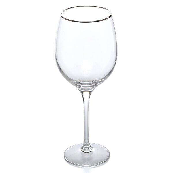 Solitaire Platinum Signature 16 Oz. Crystal Liqueur Glass by Lenox