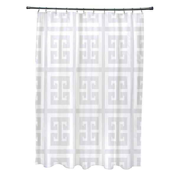 Geometric Shower Curtain by e by design