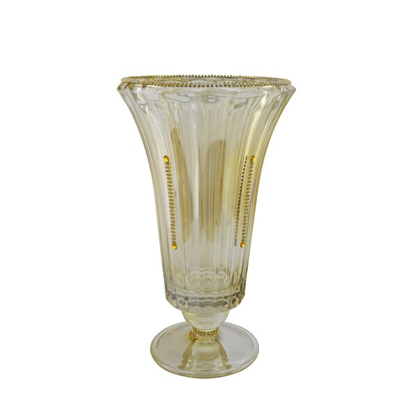 Crystal Decoration Vase by Three Star Im/Ex Inc.