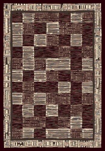 Innovation Kirala Dark Chocolate/Slate Area Rug by Milliken