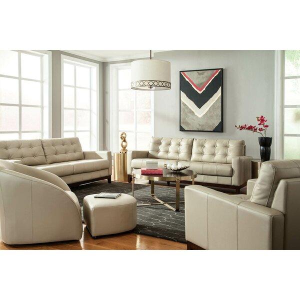 Erdman Leather Configurable Living Room Set by Brayden Studio