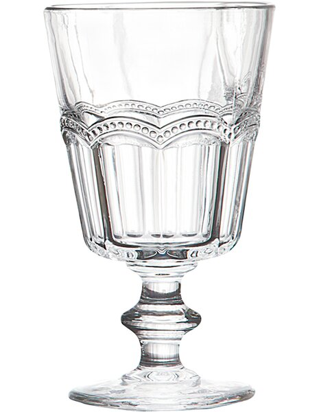 Hagemann 9 oz. Crystal Every Day Glass (Set of 4) by Three Posts