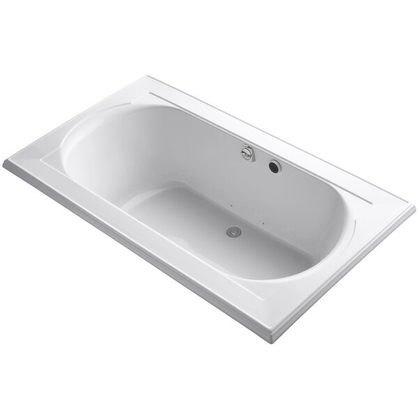Memoirs Bubblemassage 72 x 42 Soaking Bathtub by Kohler