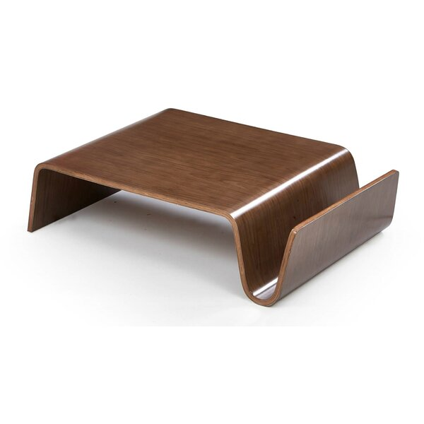 Mykonos Coffee Table with Magazine Rack by Langley Street