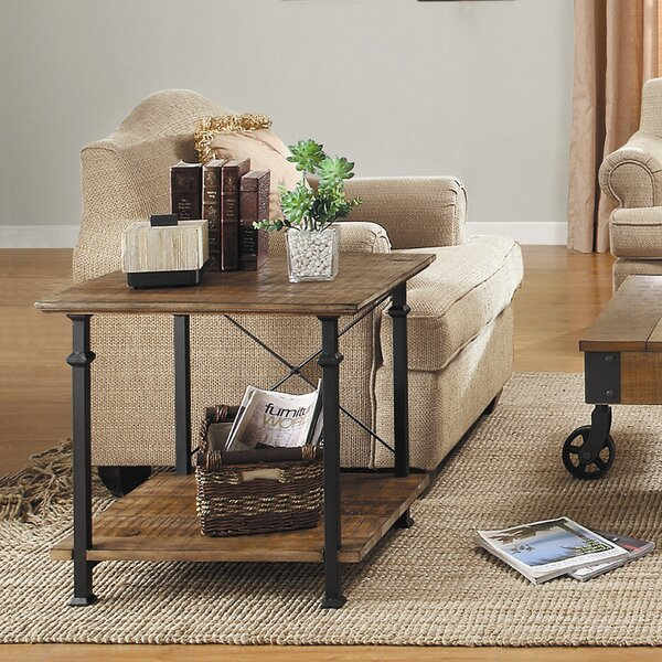 Oliver End Table by August Grove