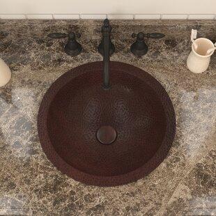 Top Reviews Magnus Series Metal Circular Drop-In Bathroom Sink By ANZZI