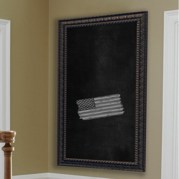 Dark Embellished Wall Mounted Chalkboard by Rayne Mirrors