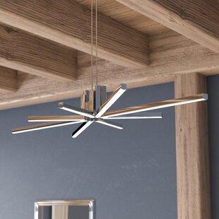 Read Reviews Dublin 8-Light  LED  Chandelier By Wade Logan