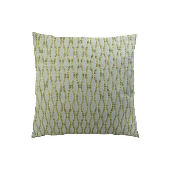 Winding Road Zest Handmade Throw Pillow by Plutus Brands