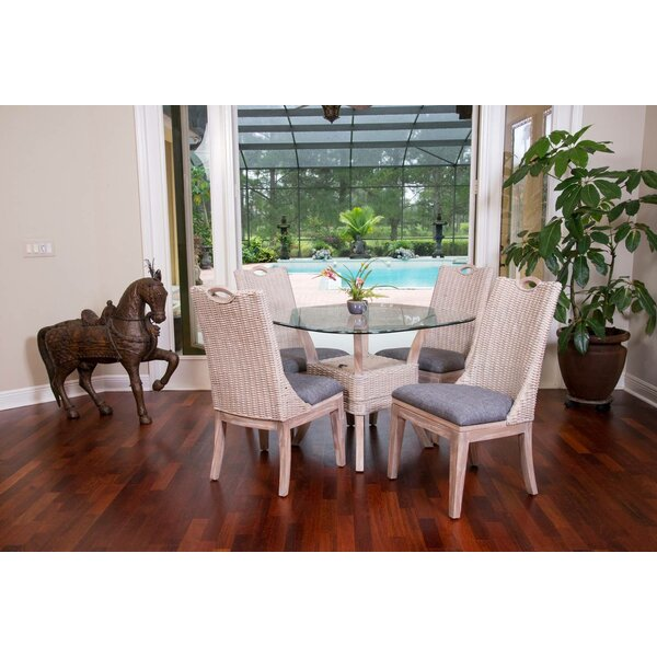 Belize 5 Piece Bistro Set by Alexander & Sheridan Inc.